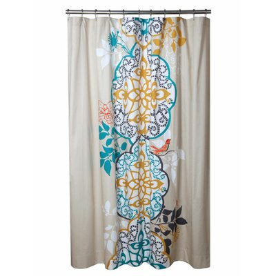 Blissliving Home Shangri La Cotton Shower Curtain