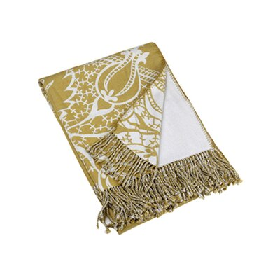 Blissliving Home Argo Throw Reversible in Lace / Gold
