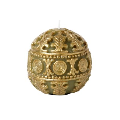 Blissliving Home Casbah Sphere in Olive / Gold