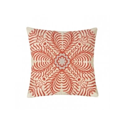 Blissliving Home Abu Dhabi Saba Silk / Cotton Pillow