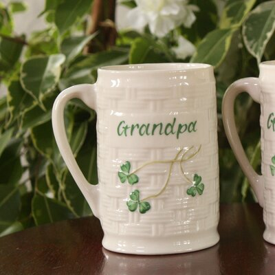 Belleek Grandpa Personalized Mug
