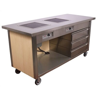 John Boos Pro Chef Entertainer Mobile Kitchen Cart