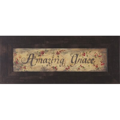 Art Effects Amazing Grace Framed Artwork