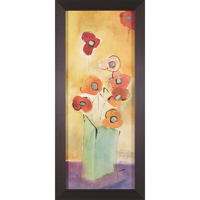 Art Effects Evening Poppies Framed Artwork
