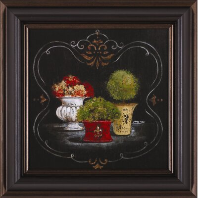 Art Effects Francais Fleuriste II Framed Artwork