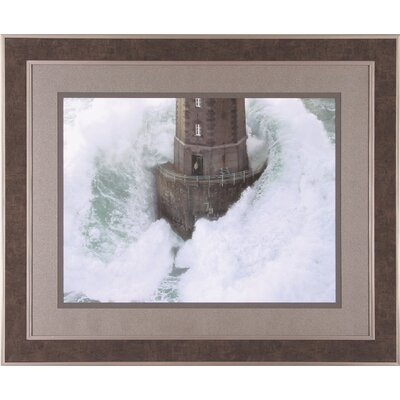 Art Effects La Jument Lighthouse Framed Artwork
