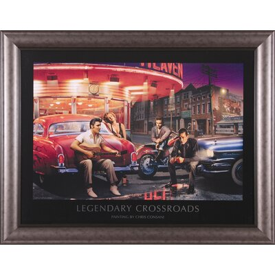Art Effects Legendary Crossroads Framed Artwork