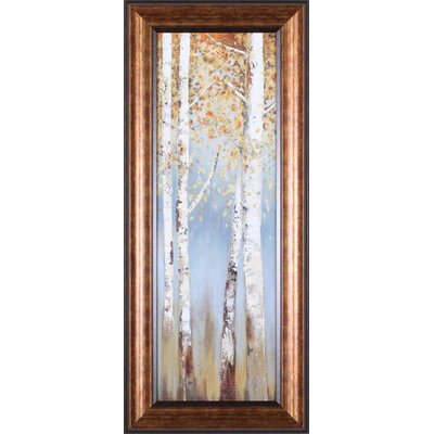 Butterscotch Birch Trees I Framed Artwork