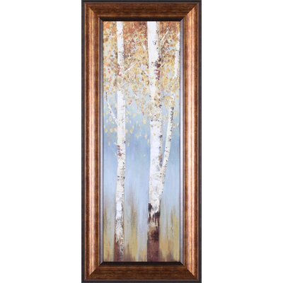 Butterscotch Birch Trees II Framed Artwork