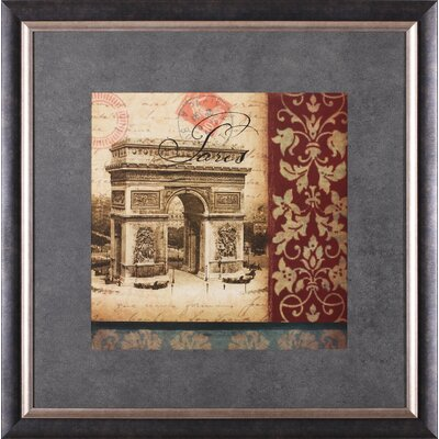 Art Effects ''Vue Historique - L'Arc De Triomphe'' Wall Art
