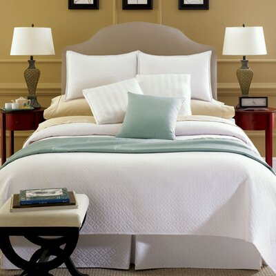 Chelsea Frank Group Erika Coverlet in White