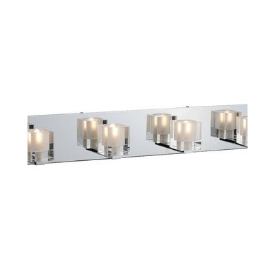 ET2 Blocs  Vanity Light in Chrome