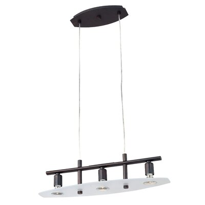 ET2 Nin 3 Light Kitchen Island Pendant