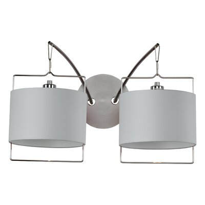 ET2 Passion  Wall Sconce in Satin Nickel/Polished Chrome
