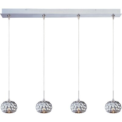 "ET2 Minx 3.75"" 4 Light RapidJack Linear Pendant"