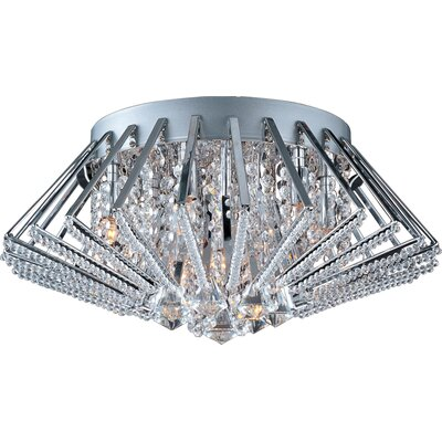 ET2 Zen 9-Light Flush Mount