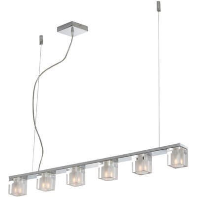 Blocs 6 Light Linear Pendant