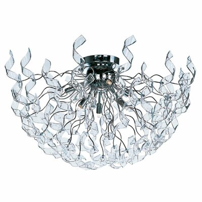 ET2 Zest 6 Light Flush Mount