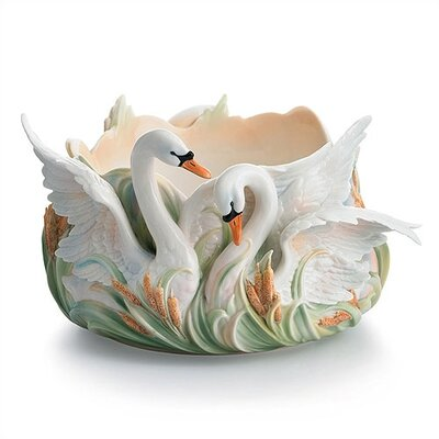 "Franz Collection Swan Lake 13"" Serving Bowl"