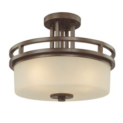 Dolan Designs Multnomah 3 Light Semi Flush Mount
