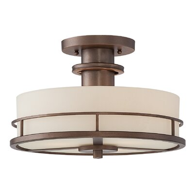 Dolan Designs Beacon 3 Light Semi Flush Mount