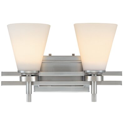 Dolan Designs Luradel  Vanity Light  in Satin Nickel