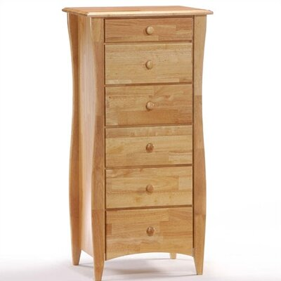 Night & Day Furniture Clove Lingerie 6 Drawer Chest