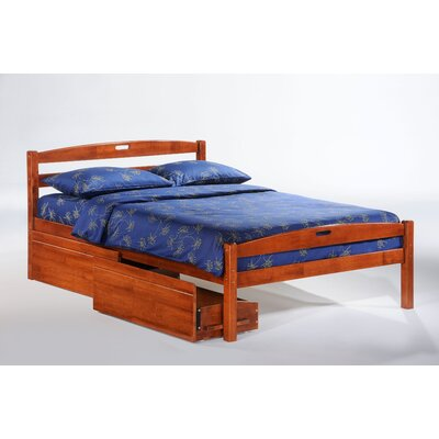 Night & Day Furniture Zest Sesame Bed in Cherry