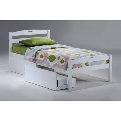 Night & Day Furniture Zest Sesame Bed in White