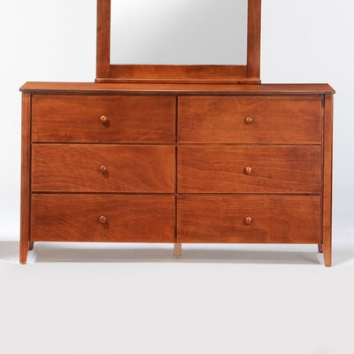 Night & Day Furniture Zest 6 Drawer Dresser