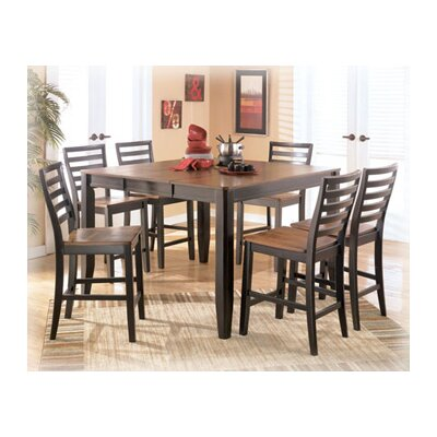Signature Design by Ashley Barlow 7 Piece Counter Height Dining Set
