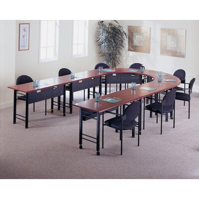 "Mayline Group Conclave: 67"" x 24"" Crescent Meeting/Training Table"
