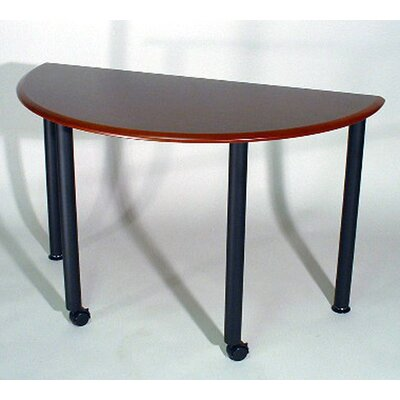 "Mayline Group Encounter: 48"" x 24"" Half Round Meeting/Training Table"