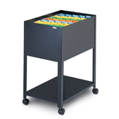 Mayline Group Mobilizer One Tier Steel Filing Cart