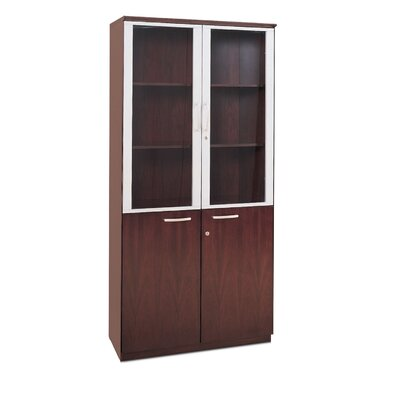 Mayline Group High Wall Cabinet with Glass Doors