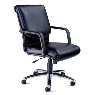 Mayline Mercado Alliance Mid-Back Office Chair with Arms