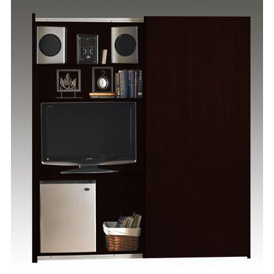 Mayline Group Sorrento Sliding Door Multi-Media Cabinet