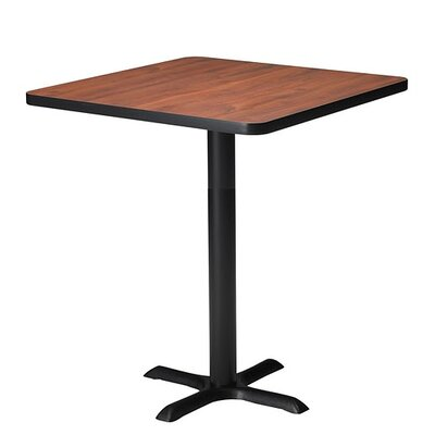 Mayline Group Bistro Square Bar Height Table