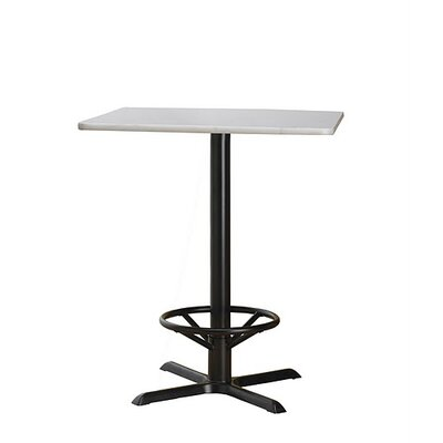 "Mayline Group Bistro 18"" Steel Foot Ring for High Base Table"