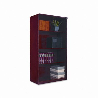 Mayline Group Corsica Wall Cabinet, 1 Fixed/2 Adjustable Shelves, 36X19X68, Sierra CY