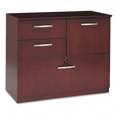 Mayline Group Corsica Combination File, 36W X19D X 29-1/2H, Sierra Cherry