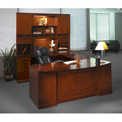 Mayline Group Sorrento U-Shape Desk Suite
