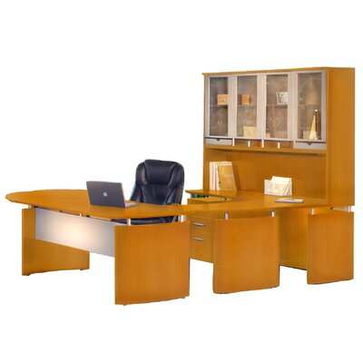 Mayline Group Napoli U-Shape Desk Office Suite