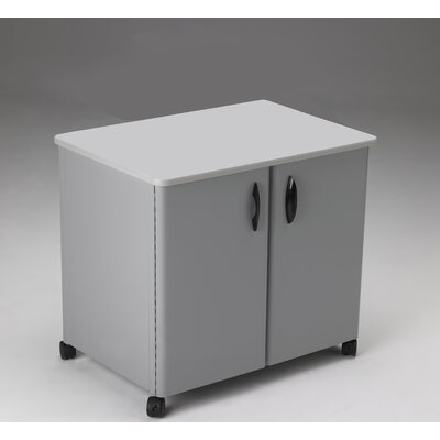 Mayline Group Mobile Utility Cabinet with Steel Exterior
