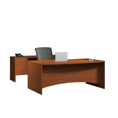 Mayline Group Brighton Standard Desk Office Suite