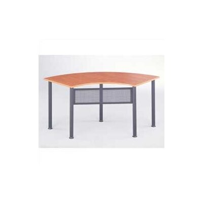 "Mayline Group Encounter: 67"" x 24"" Crescent Meeting/Training Table"