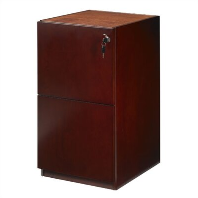 "Mayline Group Luminary 19"" Pedestal with Two File Drawers"