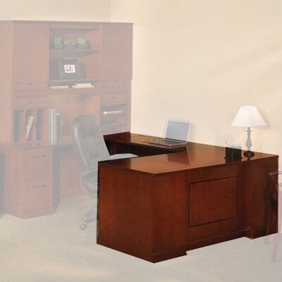 Mayline Group Sorrento L-Shaped Executive Desk