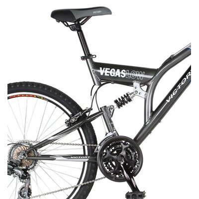 Victory 21-Speed Vegas Low Dual Suspension Mountain Bike