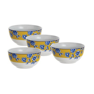 Paula Deen Signature Spring Prelude Cereal Bowl (Set of 4)